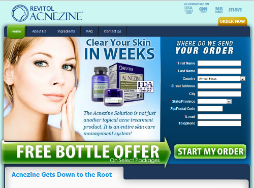 Acnezine Best Acne Treatment Today Buy Acnezine Online Home